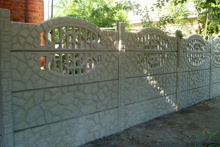 Ограда под камень