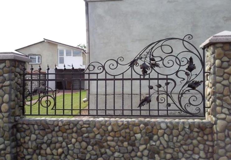 Металлический ажурный забор